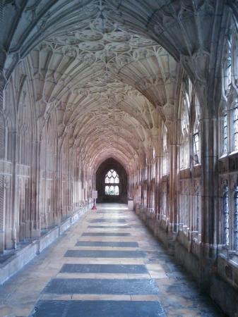 Cattedrale di Gloucester: Gloucester cathedral - Harry Potter's cloisters