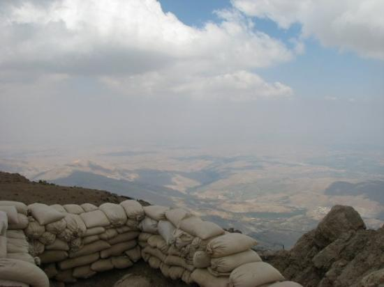 Salah, Syria: View from Mt Harmon