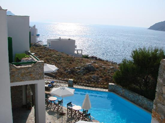 Yperia Hotel: the view from our room