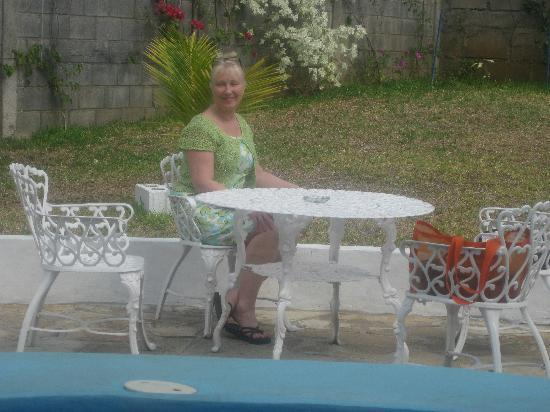 Hotel el Gran Marquez: Pleasant area to sit near pool