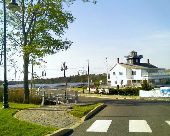 Tuckerton, NJ : View from the Seaport Parking Lot