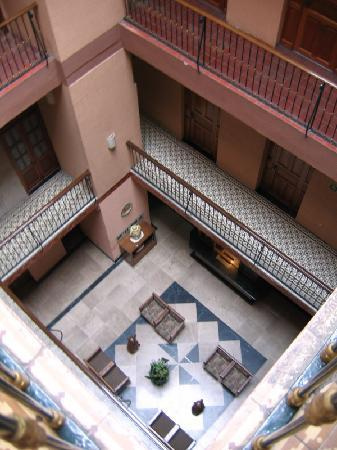 Hotel Rioja: View from the third floor
