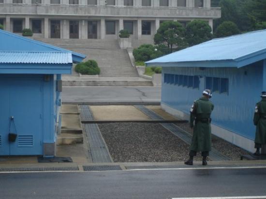Paju, เกาหลีใต้: At the DMZ between North and South Korea. For once, I'm on the Southside. 2008.