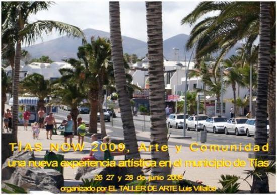 Lanzarote, Spanien: TÍAS NOW 2009, Arte y comunidad