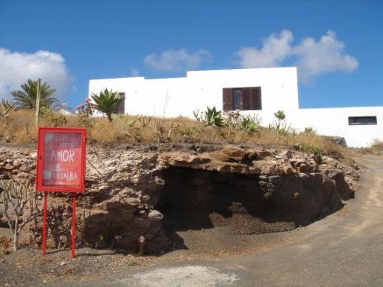 Lanzarote, Spanien: Entrada a EL TALLER DE ARTE
