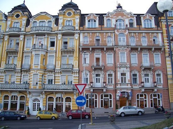 Marianske Lazne (Marienbad), Tschechien: Mesto, Marianske Lazne