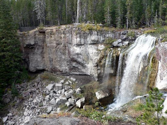 Bend, OR: Paulina Creek Falls - Newberry Volcanic Monument