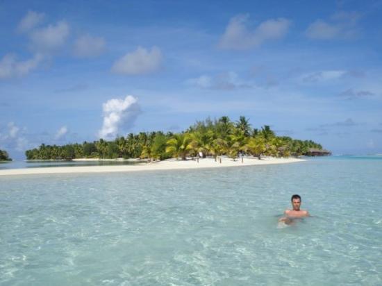 Aitutaki Lagoon: Temperatura vode - ca. 30°C