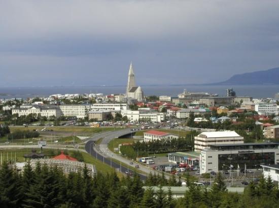 Iceland foto di reykjav k regione della capitale for Casette di legno in islanda reykjavik