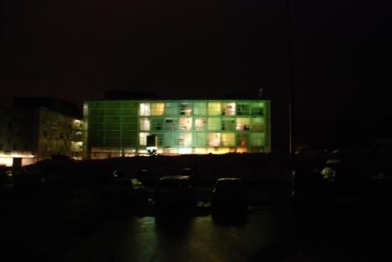 Cube Nassfeld: Cube Hotel By Night