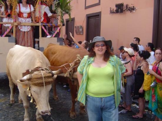 Romería canaria, Garachico, Tenerife.