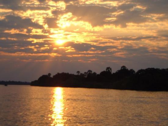 Zimbabwe: Beautiful Sunset on the Zambezi River