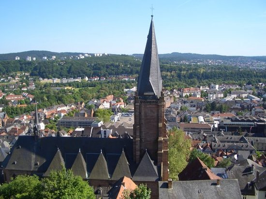 Marburg, Deutschland: church