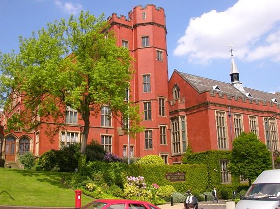 Σέφιλντ, UK: Firth Court - University of sheffield