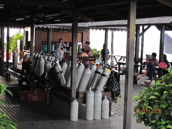 Sipadan Kapalai Dive Resort : The dive center
