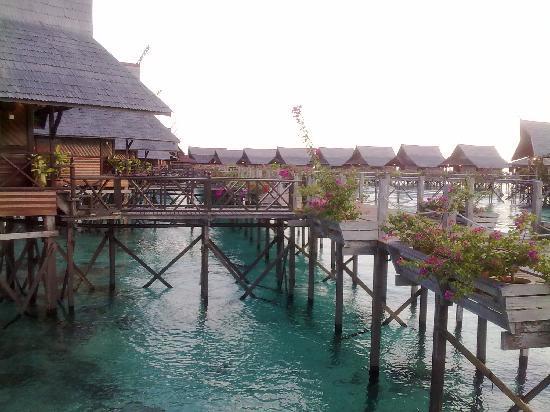 Sipadan Kapalai Dive Resort : View of the chalet