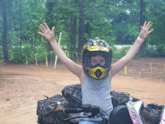 Union Point, GA: We had a BLAST!  it rained the first day and we were covered in mud both days