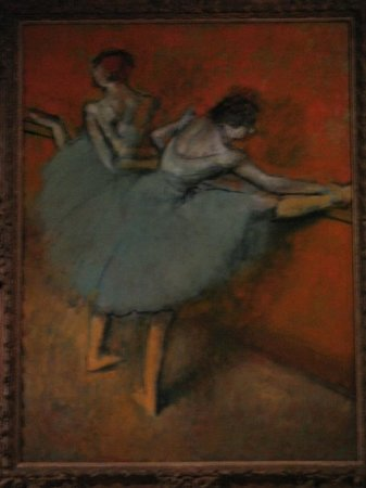The Phillips Collection: My favorite Degas with a ballet theme.
