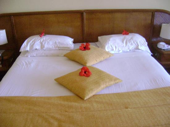 smartline Hammamet Regency: nice touches to the bed by the maid