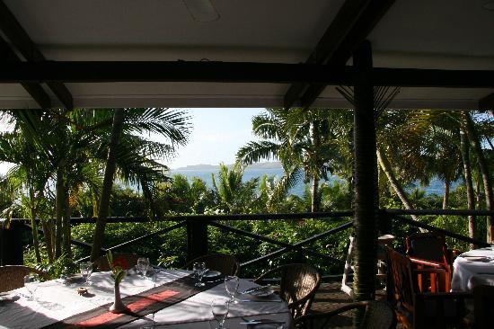 Wananavu Beach Resort: Breakfast/dining room