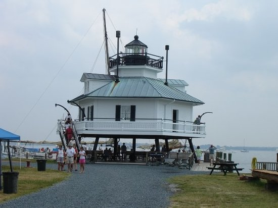 St. Michaels, MD: Lighthouse at Chesapeake Bay