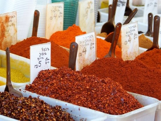 Tel Aviv, Israel: Carmel Market שוק הכרמל