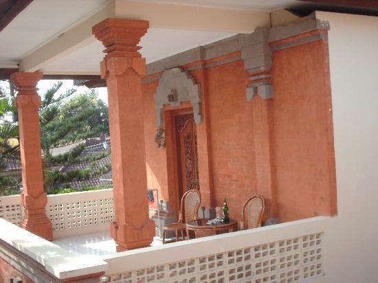 Kumala Hotel: mon balcon