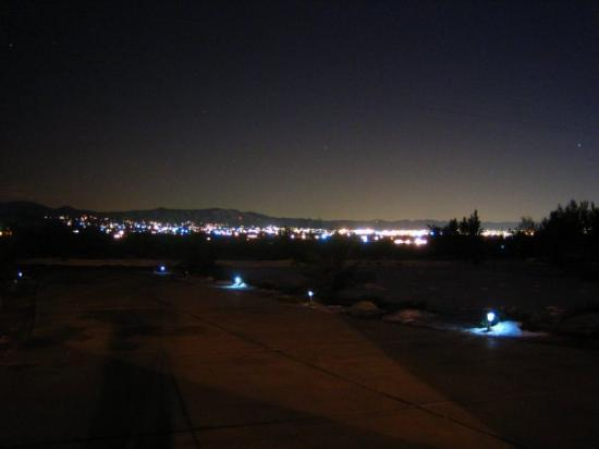 Le Valley Ca About 2 Hours Ne Of La Nighttime City
