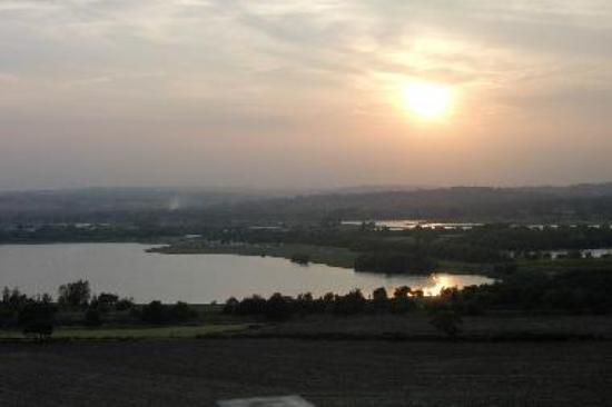 Sunset over Pugneys Lake