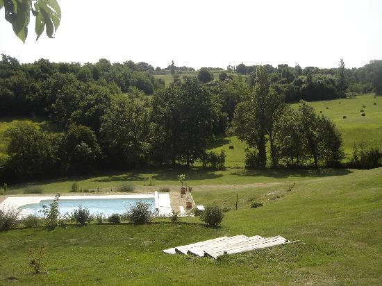 Le Domaine de Rudel: La piscine
