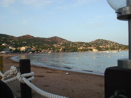 Hotel Le Lido : vue sur la baie d'agay