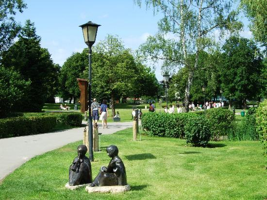 Hotel am Kureck: Uferpark