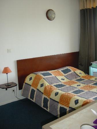 Maeva Résidence Le Trianon : Canapé-lit dans pièce principale