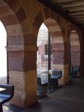 Hosteria el Convento : Vista frente al Restaurante
