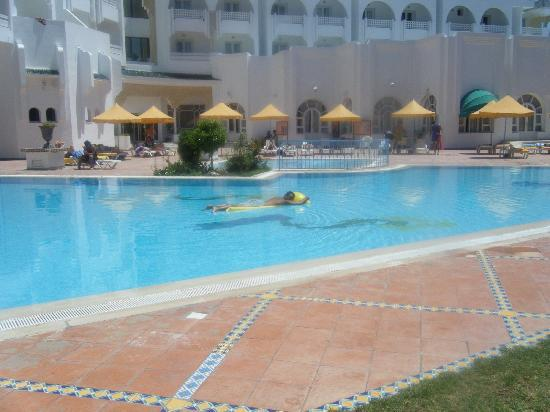 Houria Palace Hotel: one of two pools