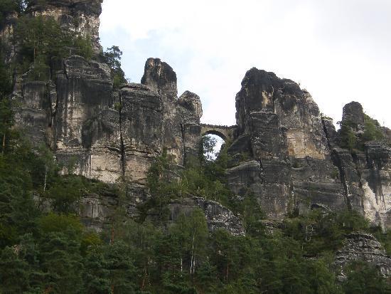Ostrauer Scheibe: Ausflugsziel- Die Bastei