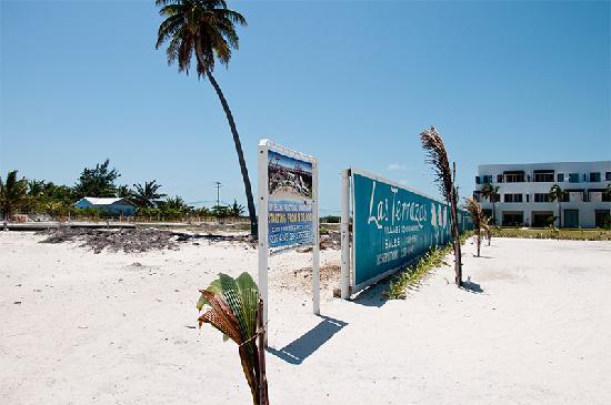 Las Terrazas Resort: Still under construction