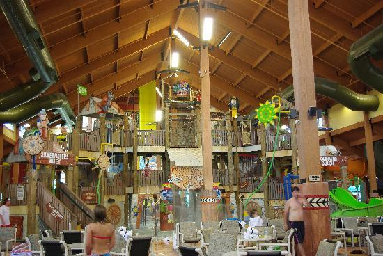 Wilderness Resort  indoor water park. indoor water park   Picture of Wilderness Resort  Wisconsin Dells