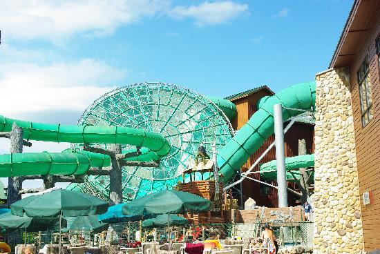Wilderness Resort  more slides. more slides   Picture of Wilderness Resort  Wisconsin Dells