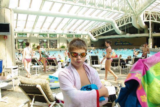 Wilderness Resort: the indoor wavepool