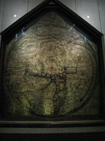 Херефорд, UK: The Mappa Mundi