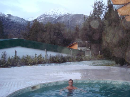 Antuquelen Hosteria Patagonica: Piscina aquecida