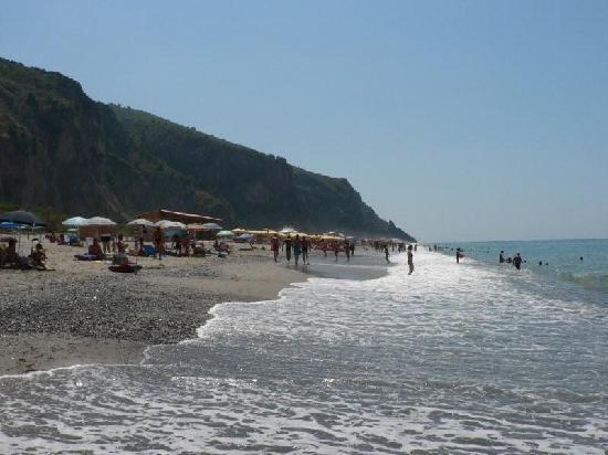 Villaggio Odissea: spiaggia del villaggio