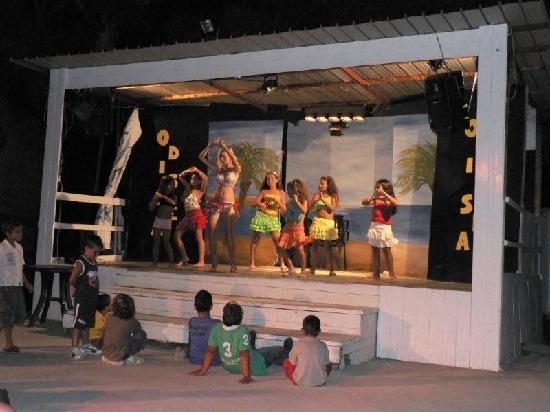 Villaggio Odissea: palco