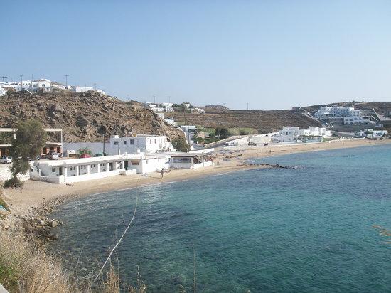 Megali Ammos : la spiaggia