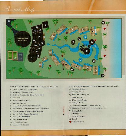 Secrets Maroma Beach Riviera Cancun Map Of Hotel