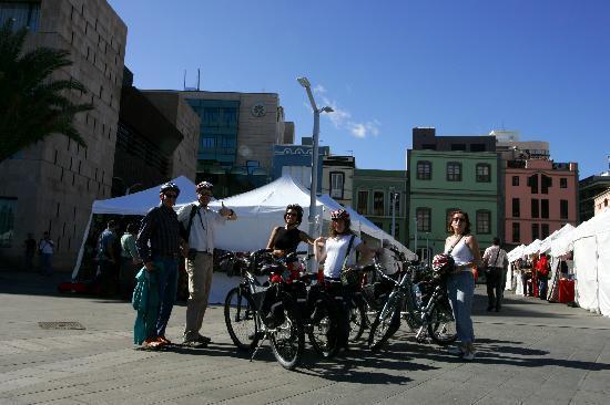 Las Palmas Cultural City Bike Tour: Mercado Vegueta