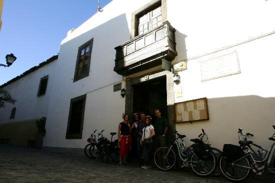 Las Palmas Cultural City Bike Tour: Casa Montesdeoca
