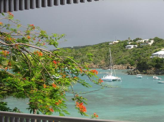 Secret Harbour Beach Resort: View from our balcony