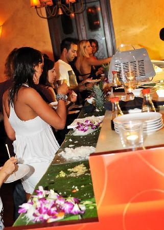 Buddha Bar: Aperitivo Chic a base di sushi